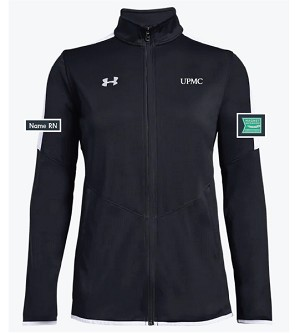 Under Armour Ladies Team Rival Knit Warm-Up Jacket